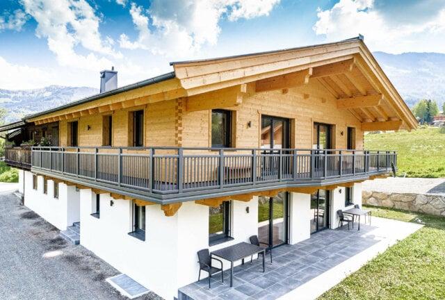 Moderna ringhiera del balcone in alluminio con un look senza tempo - Balcone in alluminio Alu Design Genf